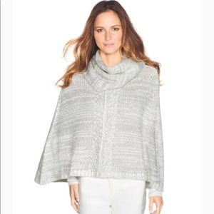 Just In - WHBM Convertible Cowl Poncho Sweater XS